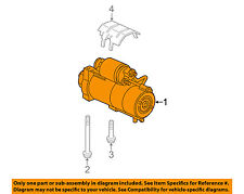 GM OEM-Starter Motor 89018123