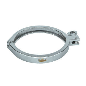 "HFS(R) 6"" Sanitary Clamp - Tri Clamp Clover Stainless Steel"