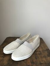 What's What Demi Gore Linen size 11 M Slip-on Loafer Boat Shoes Sneakers