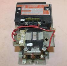 One Square D Lighting Contactor 60 Amp 600V 120V Coil 8903SP012 Ser A