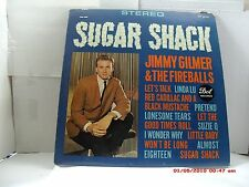 "JIMMY GILMER & THE FIREBALLS -(LP)- SUGAR SHACK - INCLUDES-""LINDA LU"" - DOT-1963"