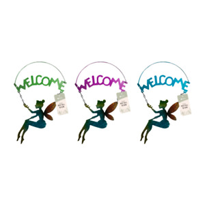 Fairy Welcome Sign in Metal 1 Supplied