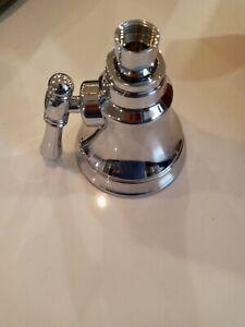 Rohl W10123PN Country big rain shower head polished nickel Bossini spa