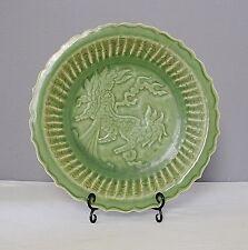 Large  Chinese  Long-Quan  Glaze  Porcelain  Plate     M1355