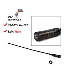 Nagoya NA-772 SMA-Male Dual Band 144/430Mhz 10W Antenna for Yaesu Vertex Radio