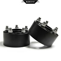 """A Pair of 2 (60mm) 2.36"""" (5x114.3 CB70.5 M14x1.5) Wheel Spacers for Ford Mustang"""