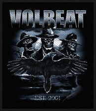 Volbeat-Patch ricamate-Outlaw Raven 8x10cm