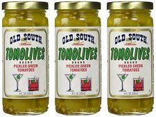 Old South Tomolives Pickled Green Tomato, 8 oz jar | Gluten Free Pickled Vege...