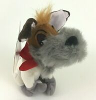 Disney Store Oliver and Company Dodger Dog Bean Bag Plush Stuffed Toy with Tags