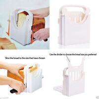 Bread Loaf Toast folding Cutter Mold Maker Slicer Slicing Kitchen Cutting Guide