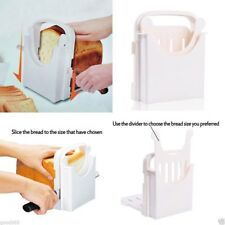 Bread Loaf Toast folding Cutter Mold Maker Slicer Slicing Kitchen Cutting Guide