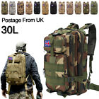 Military Tactical Army Backpack Rucksack Camping Hiking Trekking Outdoor Bag 30L