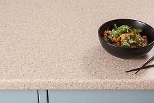 Cream Beige Laminate Kitchen Worktop 3000 x 600 x 38mm, Matt Worktop Effect