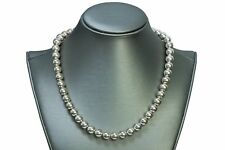 925 Sterling Silver Bead Necklace