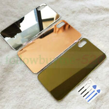 Gold For iPhone X Replacement  Battery Rear Glass Cover Housing Back Door