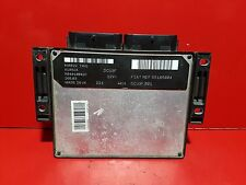 FIAT PUNTO DOBLO 1.9 JTD CALCULATEUR MOTEUR ECU REF 55185004 R04010042C