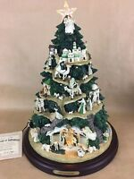 Irish Nativity Hawthorn Village Collecible tabletop Christmas Tree Bradford Rare
