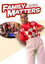 FAMILY MATTERS TV SERIES THE COMPLETE NINTH SEASON 9 New Sealed 3 DVD Set