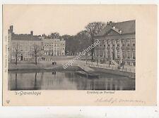 's Gravenhage Vyverberg En Voorhout Netherlands U/B Postcard Trenkler 700b