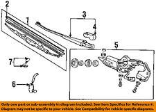 HONDA OEM 94-97 Accord Wiper-Rear Window Motor 76700SV5A01