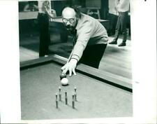 New listing 1989 BILLIARD SUTERBONG WILLY BERGEN AAN BOCHOW KRS - Vintage photograph 3960951