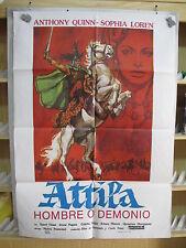 A192         ATILA HOMBRE O DEMONIO - ANTHONY QUINN, SOPHIA LOREN