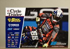 *HEATH HARRISON*SIGNED*AUTOGRAPHED*POSTER*YAMAHA*CYCLE TRADER*ROCK RIVER*COA*