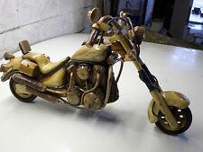 MODEL / TOY WOODEN BIKE MOTORBIKE CHOPPER, LOWRIDER, BOBBER, (HAND MADE)