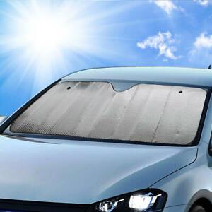 Jumbo Auto Sun Shade Car Window Cover Front Windshield Visor Protect Truck SUV