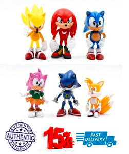 Sonic The Hedgehog Kids Toy PVC 6pcs Action Figure Set Christmas Gift Games Game