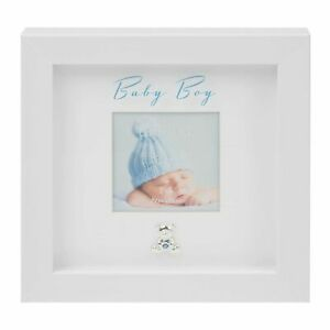 3' x 3' - Baby Boy Box Frame with Engraving Plate