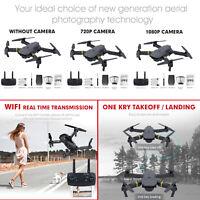 JY019 E58 XT-1 FPV GPS WIFI Camera Drone Foldable Quadcopter Selfie 1080P / 720P