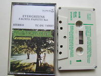EVERGREENS FAUSTO PAPETTI SAX, RARE MADE IN GREECE CASSETTE, ONLY 1 ON EBAY.