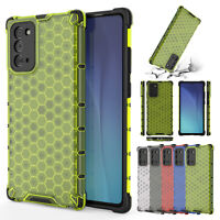 For Samsung Galaxy Note 20 Ultra Note 10 S10 Shockproof Clear Hybrid Case Cover