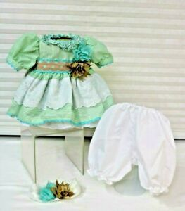 """Honey Bunch Outfit by Adora Fits 18""""/19"""" Baby Doll or Adora Toddler Dress Slip"""