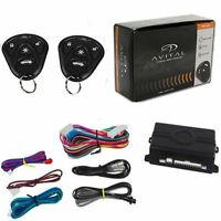 Avital 3100LX Car Alarm W/ 2 Remotes Keyless Entry Trunk Release 3 Channel