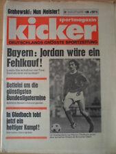 KICKER 51 - 24.6. 1975 Ulli Stielike Grabowski Bayern Jordan wäre Fehlkauf!