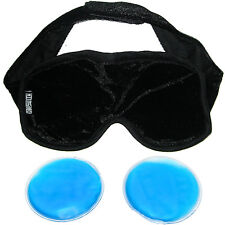 Eye Mask Magnetic plus Hot or Cold Gel Pads - Relief from Head Colds