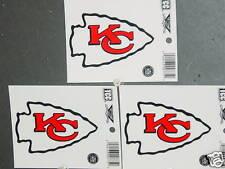 NFL Window Clings (3), Kansas City Chiefs, NEW