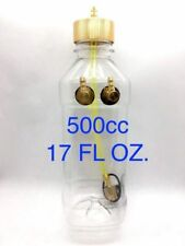 NEW 500ml (cc) 17oz Clear Fuel Tank with Metal Cap for RC Plane Gasoline Engine