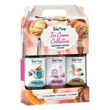 Jordans Skinny Syrups Ice Cream Collection Sugar Free Dessert Coffee Drink Mixer