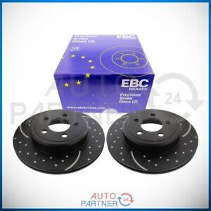EBC für Chrysler 300C Dodge Turbogroove Bremsscheiben Bremsscheibe Hinten GD7243
