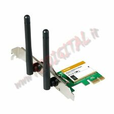 SCHEDA RETE TENDA W3122E WIFI INTERNA PCI EXPRESS NOTEBOOK PC MAC ADATTATORE