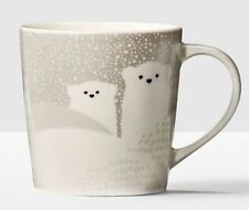 2016 Starbucks 8oz Christmas Polar Bear Coffee Mug
