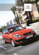 Prospekt / Brochure Kia Rio 02/2007