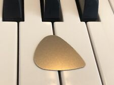 100% Titanium Gold Guitar Pick. Metal USA Silver Brass Copper Fender Music Base