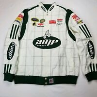 Nascar Jacket Coat National Guard AMP Energy White Dale Jr #88 Chase Authentics