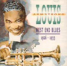 Louis Armstrong(CD Album)West End Blues-Indigo-IGOCD2035-UK-1995-New