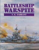 Battleship Warspite by Tarrant, V.E. Hardback Book The Fast Free Shipping