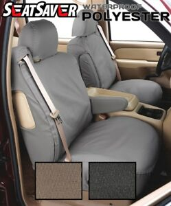 Covercraft Custom SeatSavers Waterproof Polyester Front & 2nd Row-2 Color Option